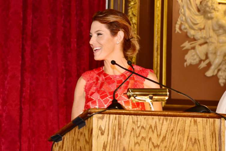 Stephanie Ruhle== at the Girls Inc 2016 Spring Luncheon. All photos, ©Patrick McMullan. Sean Zanni/PMC
