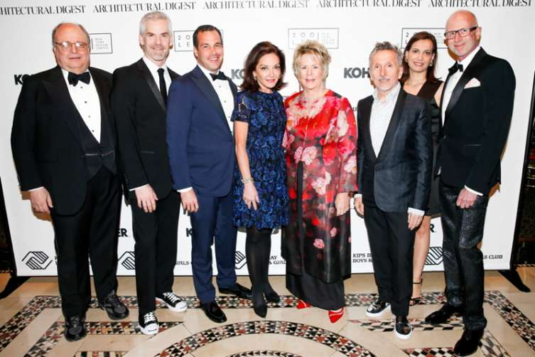 James Druckman, Jesse Carrier, Christopher Spitzmiller, Margaret Russell, Bunny Williams, Simon Doonan, Mara Miller, Jamie Drake