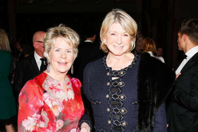 Bunny Williams, Martha Stewart