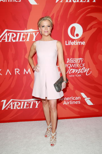 Megan Kelly at the Variety's Power of Women NY Presented by Lifetime Awards. All photos by Amy Sussman/Variety/REX/Shutterstock Megyn Kelly Variety's Power of Women NY Presented by Lifetime, Arrivals, New York, America - 08 Apr 2016