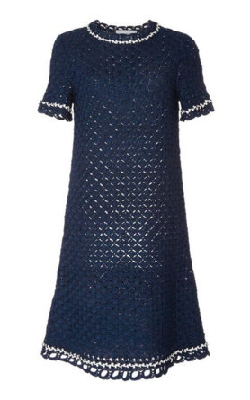 Spencer Vladimir's Violette Silk Knit Dress.