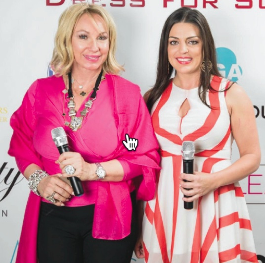 Lea Black at Dress for Success