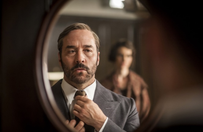 A mirror image of Piven as Mr. Selfridge