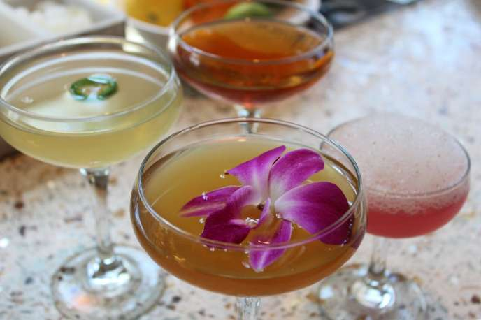 Spice Route Spring Cocktails