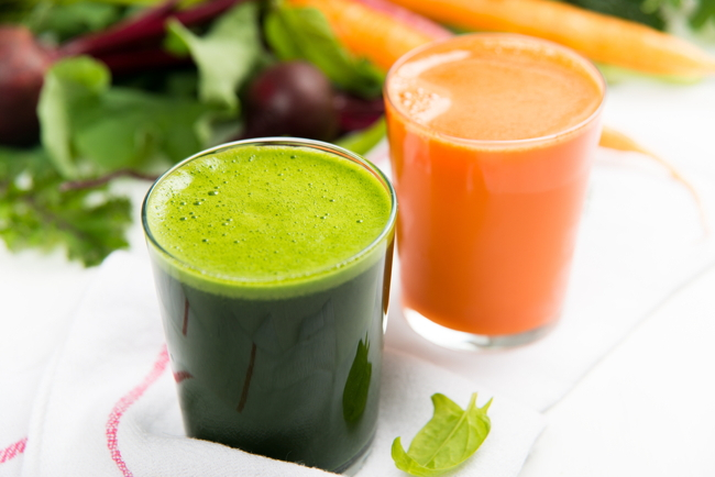 Spinach-carrots