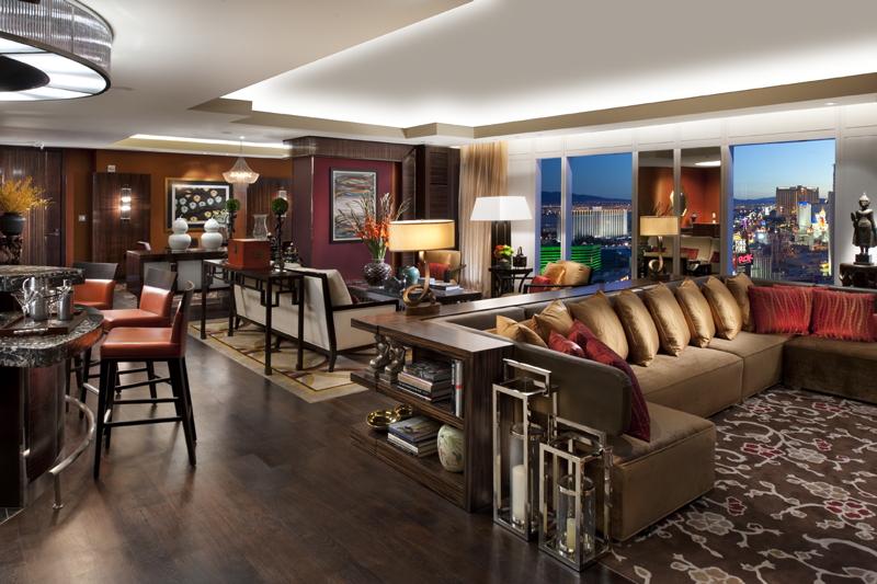 Taipan Suite at Mandarin Oriental, Las Vegas