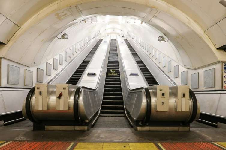The currently disused Charing Cross Tube station via The Standard