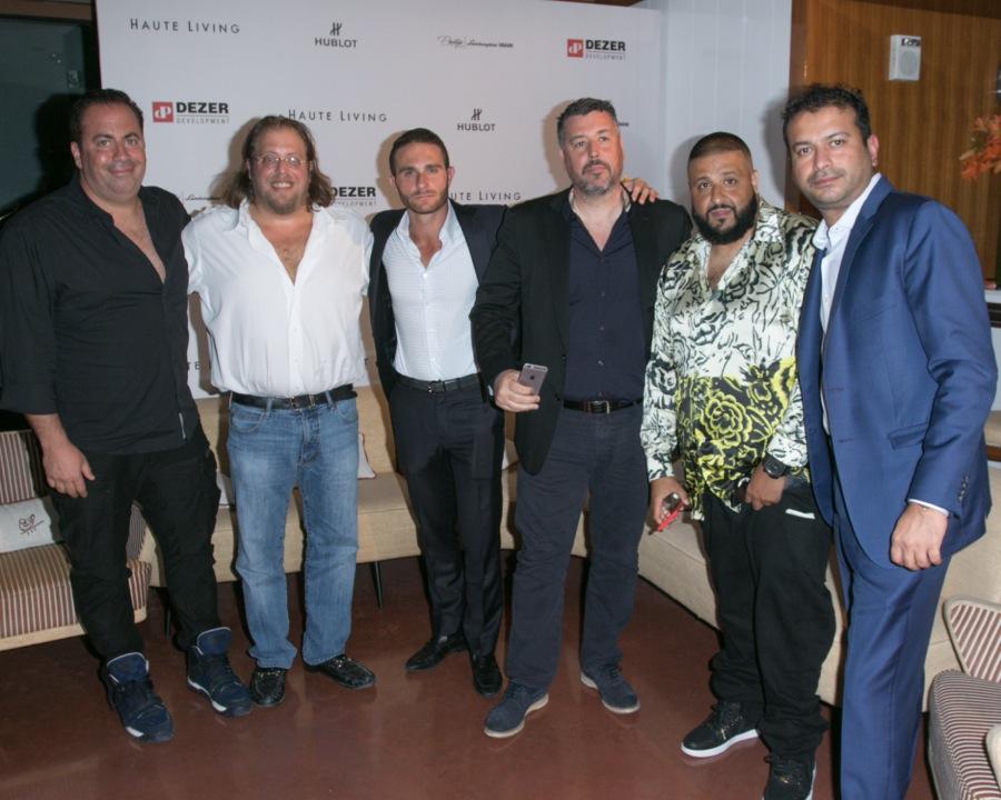 Joey Goldman, Gil Dezer, Brett David, Rick de la Croix, DJ Khaled and Kamal Hotchandani