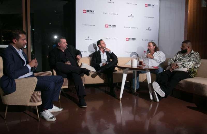 Social Media Conversation with Kamal Hotchandani, Rick de la Croix, Brett David, Gil Dezer and DJ Khaled