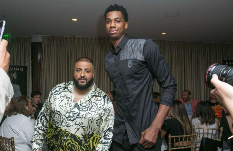 DJ Khaled and Hassan Whiteside