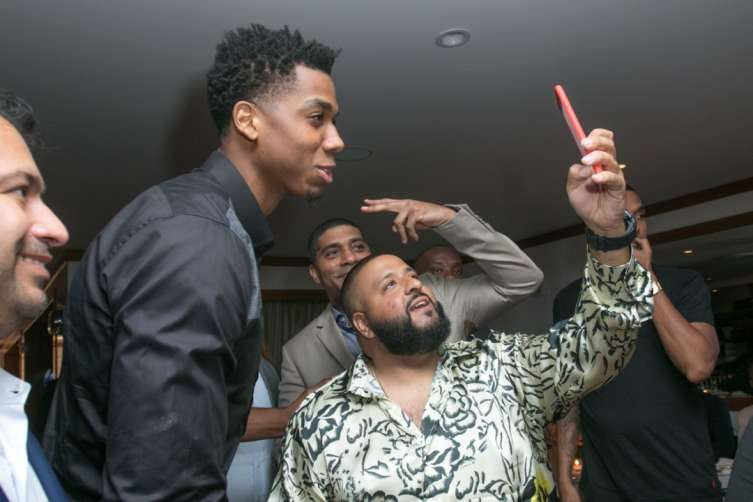 Hassan Whiteside and DJ Khaled