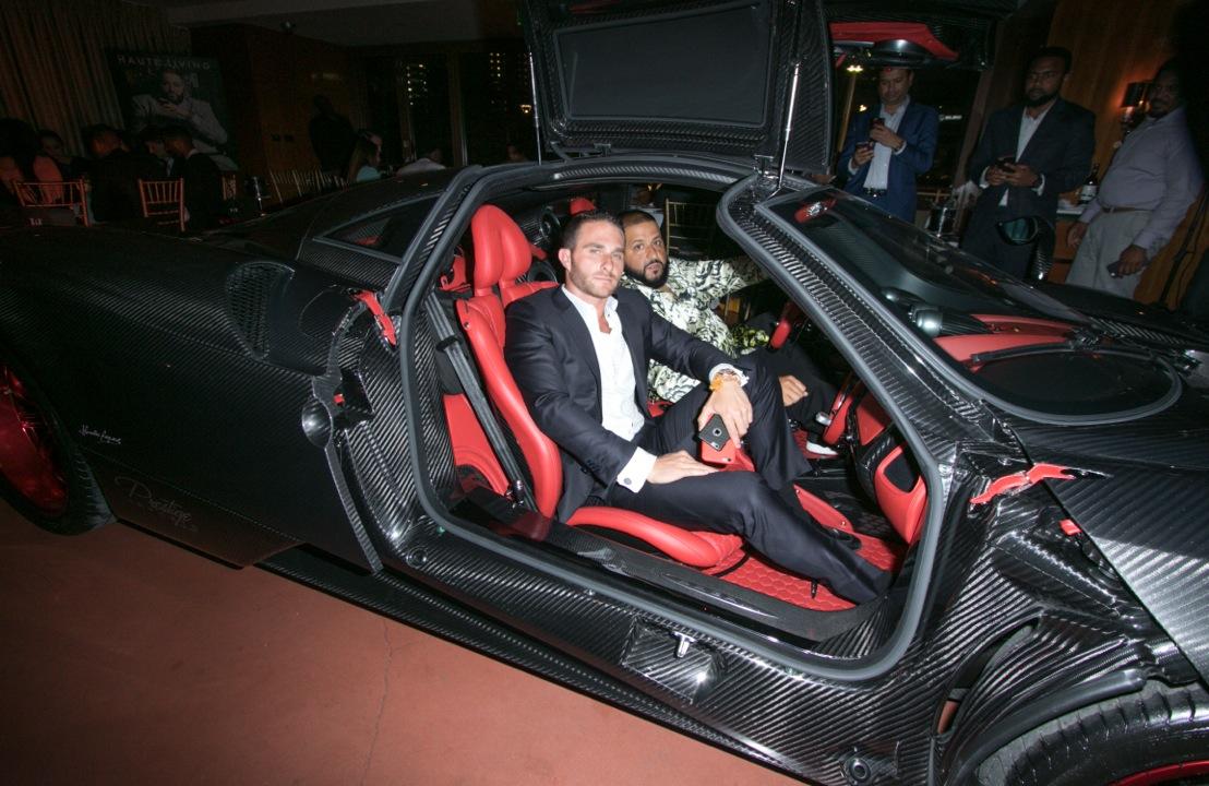 Auto Imports Miami >> Haute Living Celebrates DJ Khaled Cover with Prestige ...