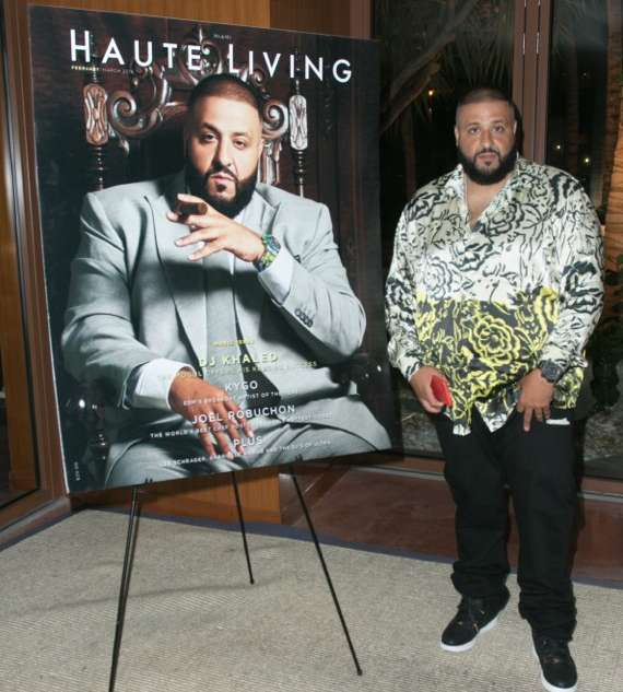 DJ Khaled Cover Launch at Cipriani Downtown
