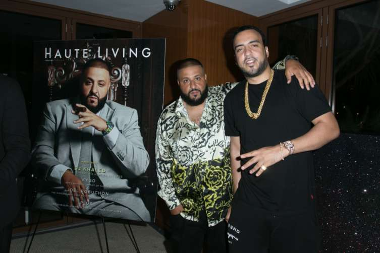 DJ Khaled and French Montana