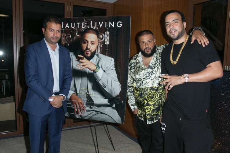 Kamal Hotchandani, DJ Khaled and French Montana