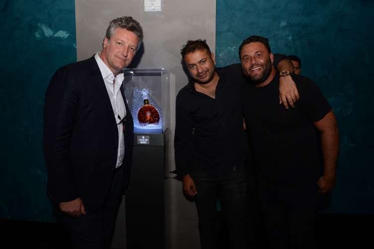 Yves De Launay, Kamal Hotchandani & David Grutman