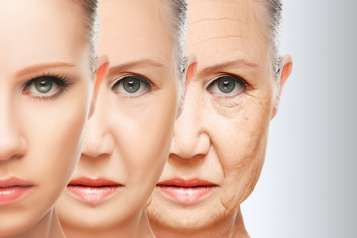 aging face