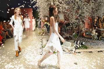 The alice + olivia LA runway show 5