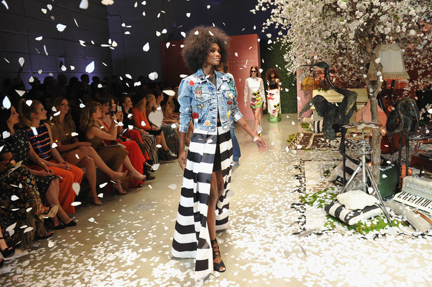 The alice + olivia LA runway show 3