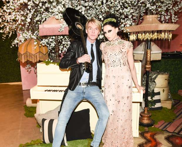 The alice + olivia LA runway show 1