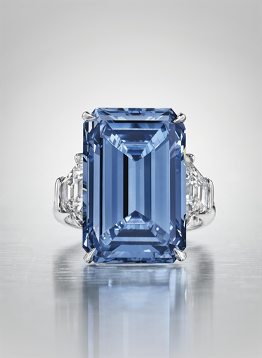 Ultra Rare Oppenheimer Blue Diamond May Fetch 45 Million