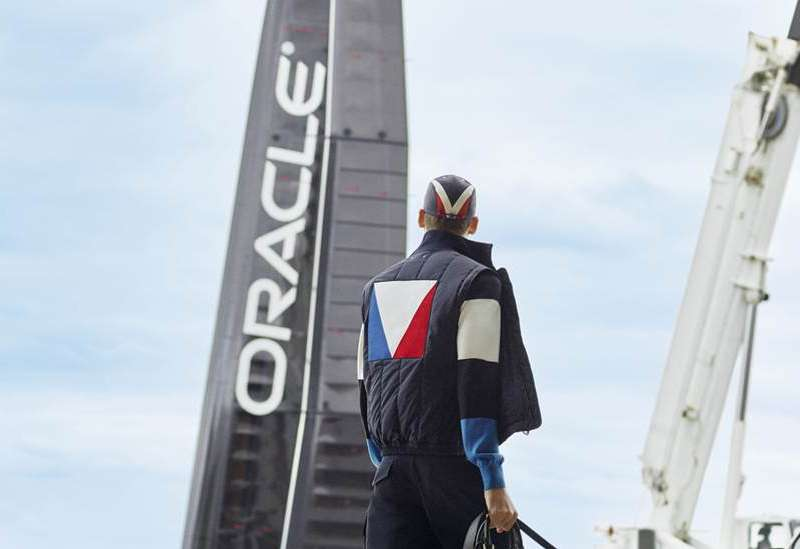 f8a48cdb1dc9 Louis Vuitton has created an America s Cup-themed menswear collection in  honor of the 35th edition of the Louis Vuitton America  Cup.