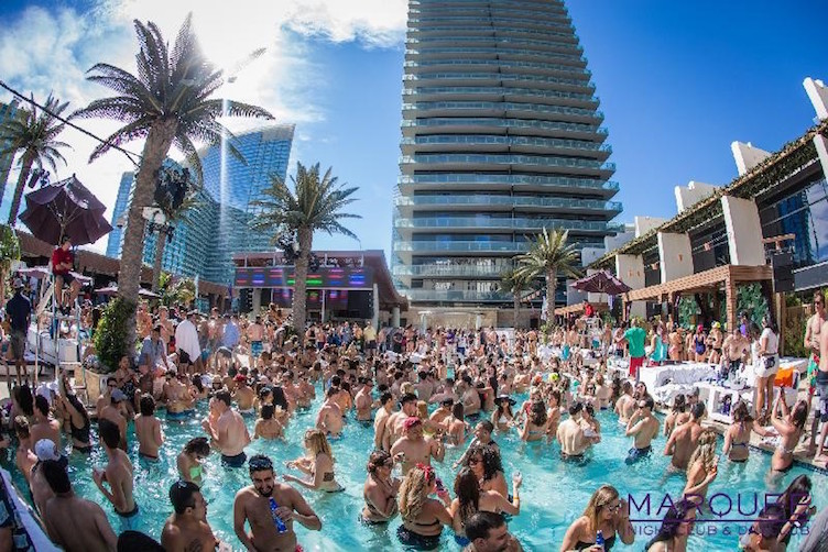 Marquee dayclub prepares for a wild 2016 pool party season for Pool show las vegas 2016