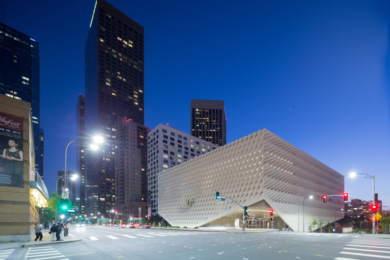 The Broad Receives Gold Leed Certification