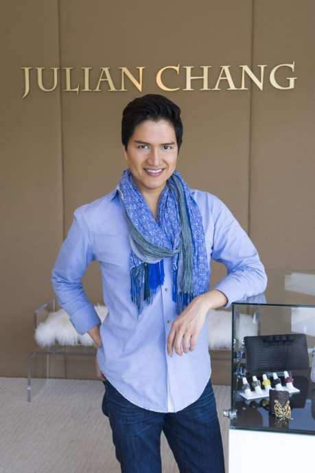 Julian Chang at his New Flagship Store