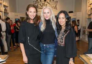 Christy Turlington Burns, Vanessa Getty, Mariam Naficy