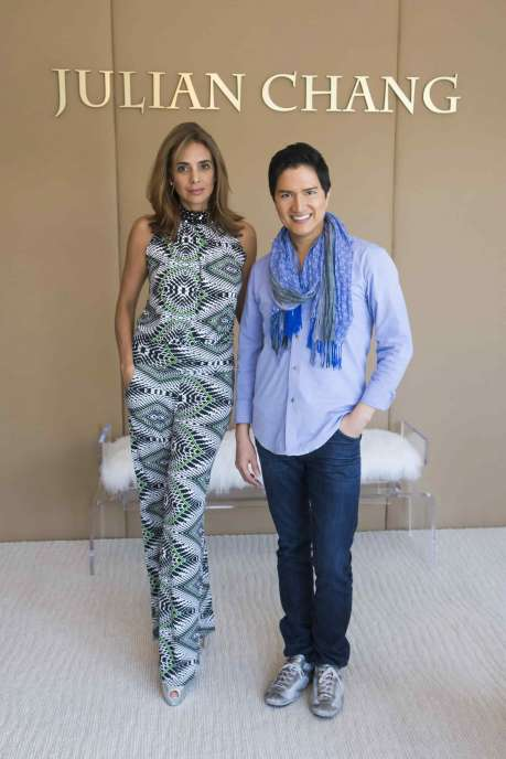 Valentina Gutchess and Julian Chang