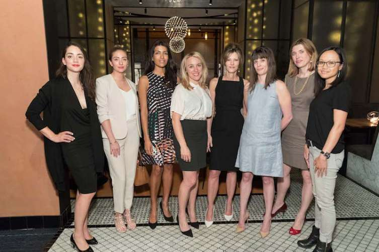 Marcela Sapone, Whitney Wolfe, Leila Janah, April Underwood, Robbie Myers, Del Harvey, Jen Fitzpatrick, Tracy Young
