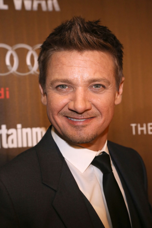 "Jeremy Renner== The Cinema Society with Audi & FIJI host a screening of Marvel's ""Captain America: Civil War""== Henry R. Luce Auditorium at Brookfield Place, NYC== May 4, 2016== ©Patrick McMullan== Photo: Sylvain Gaboury/PMC== =="