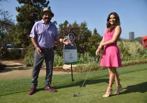 Comedian George Lopez and actress Eva Longoria attended the 9th Annual George Lopez Celebrity Golf Classic to benefit The George Lopez Foundation on Monday, May 2nd at the Lakeside Golf Club in Burbank