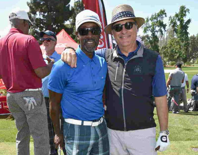 Actors Don Cheadle and Andy Garcia attended the 9th Annual George Lopez Celebrity Golf Classic