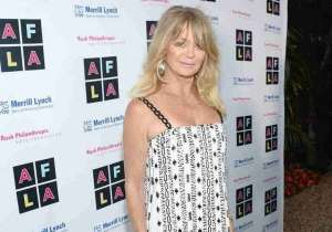 Honoree Goldie Hawn
