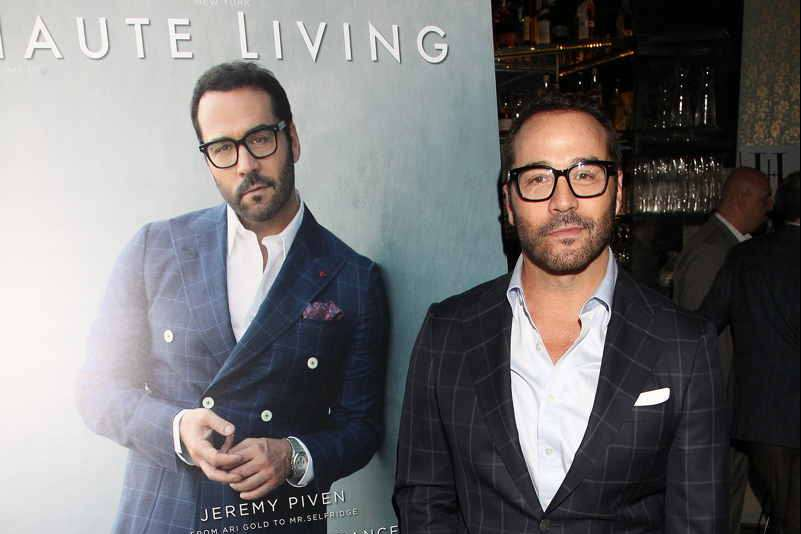 Jeremy Piven celebrates his Haute Living and Haute Time covers with Hublot on Thursday night