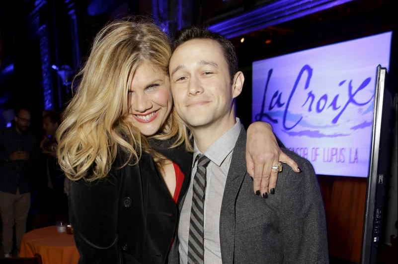 Kristen Johnston and actor Joseph Gordon-Levitt attend Lupus LA's Orange Ball, A Night Of Superheroes at FOX Studios on May 7
