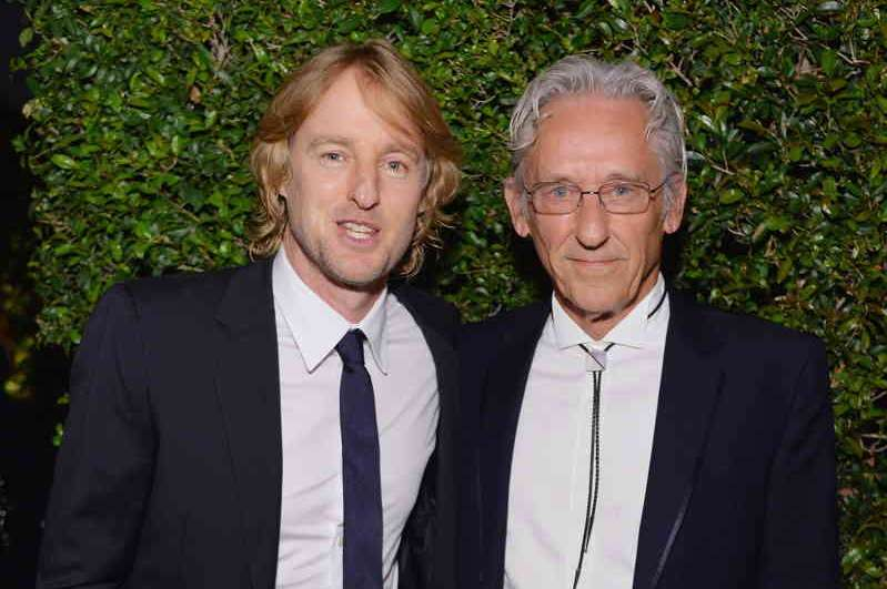 Owen Wilson and honoree Ed Ruscha attend the MOCA Gala 2016 at The Geffen Contemporary at MOCA