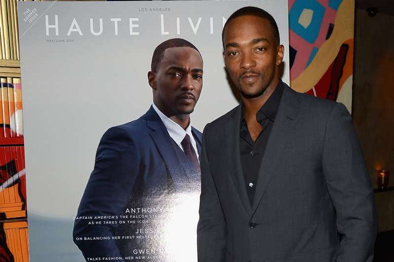 Anthony Mackie attends his Haute Living & Jet Smarter cover release dinner at Vandal in New York