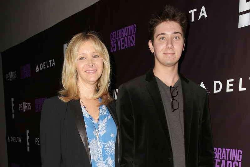 Lisa Kudrow (L) and Julian Murray Stern