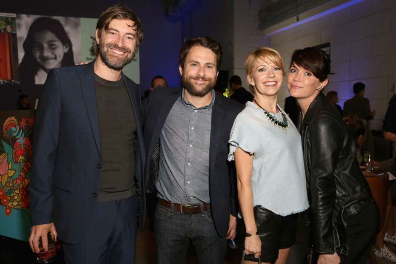Mark Duplass, Charlie Day, Mary Elizabeth Ellis and Katie Aselton