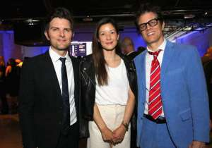 Adam Scott, Naomi Nelson and Johnny Knoxville attend the pARTy! - celebrating 25 years of P.S. ARTS