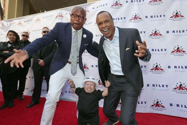Sugar Ray Leonard Hosts Start-Studded Charity Boxing Night 7