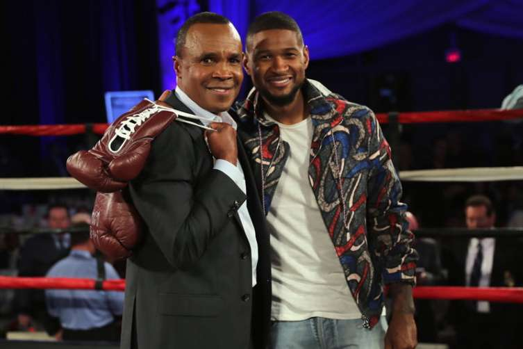 Sugar Ray Leonard Hosts Start-Studded Charity Boxing Night 1