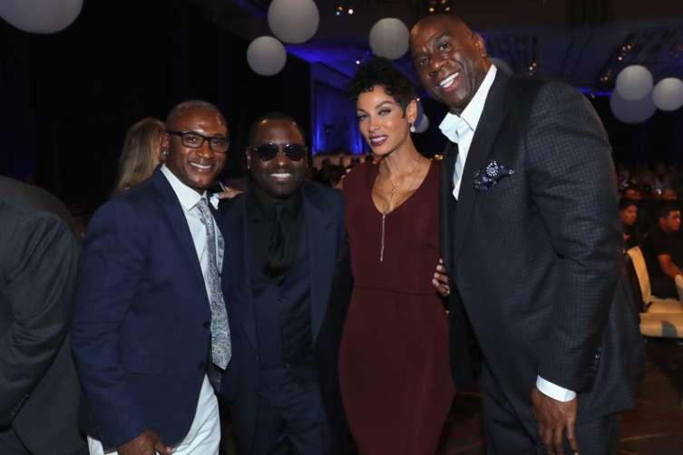 Sugar Ray Leonard Hosts Start-Studded Charity Boxing Night 4