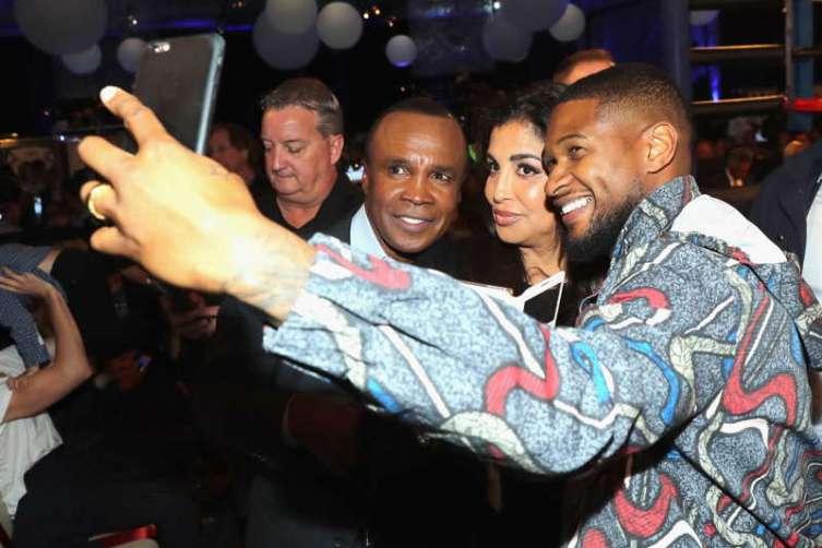 Sugar Ray Leonard Hosts Start-Studded Charity Boxing Night 2