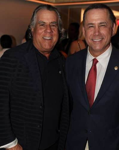 Alan Lieberman & Mayor Philip Levine