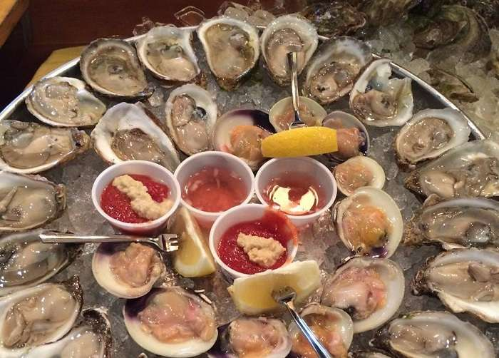 Brant Point Grill Oysters