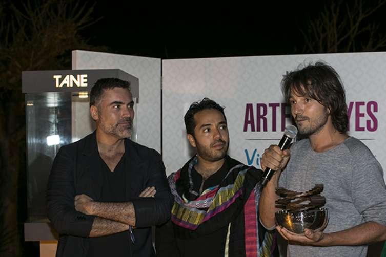 Nino Bauti y Diego Luna
